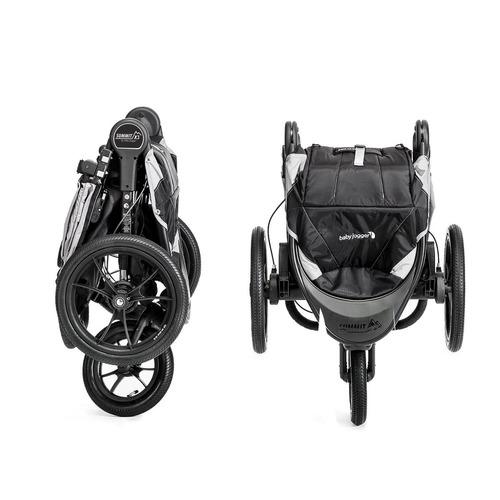 tb remolque baby jogger summit x3 single stroller, black