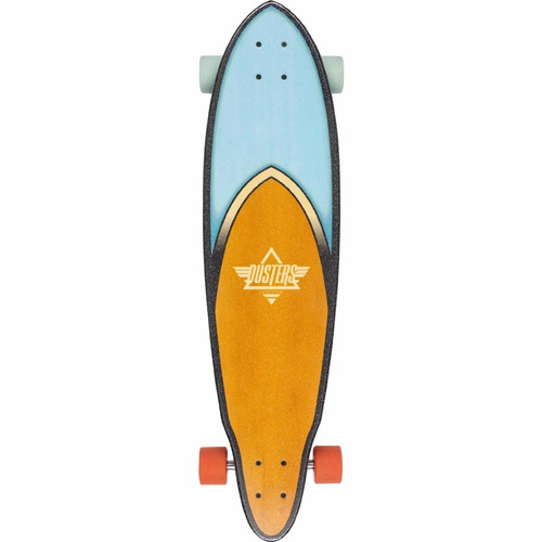 tb skateboard dusters california skateboards fin rose blue