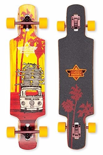 tb skateboard dusters california skateboards quiver yellow