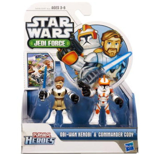 tb star wars jedi force playskool heroes obi-wan kenobi
