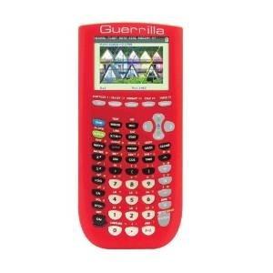 tb texas instruments calculator- guerrilla silicone case fo