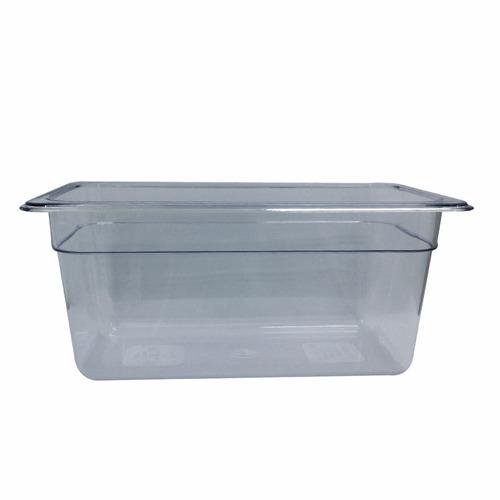 tb304 recipiente inserto baño maria tercio policarbonato