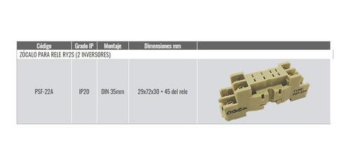 tbcin psf-22a zocalo relays 2 inv.