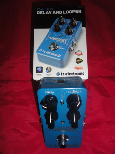tc electronic flashback delay looper - pedal de guitarra