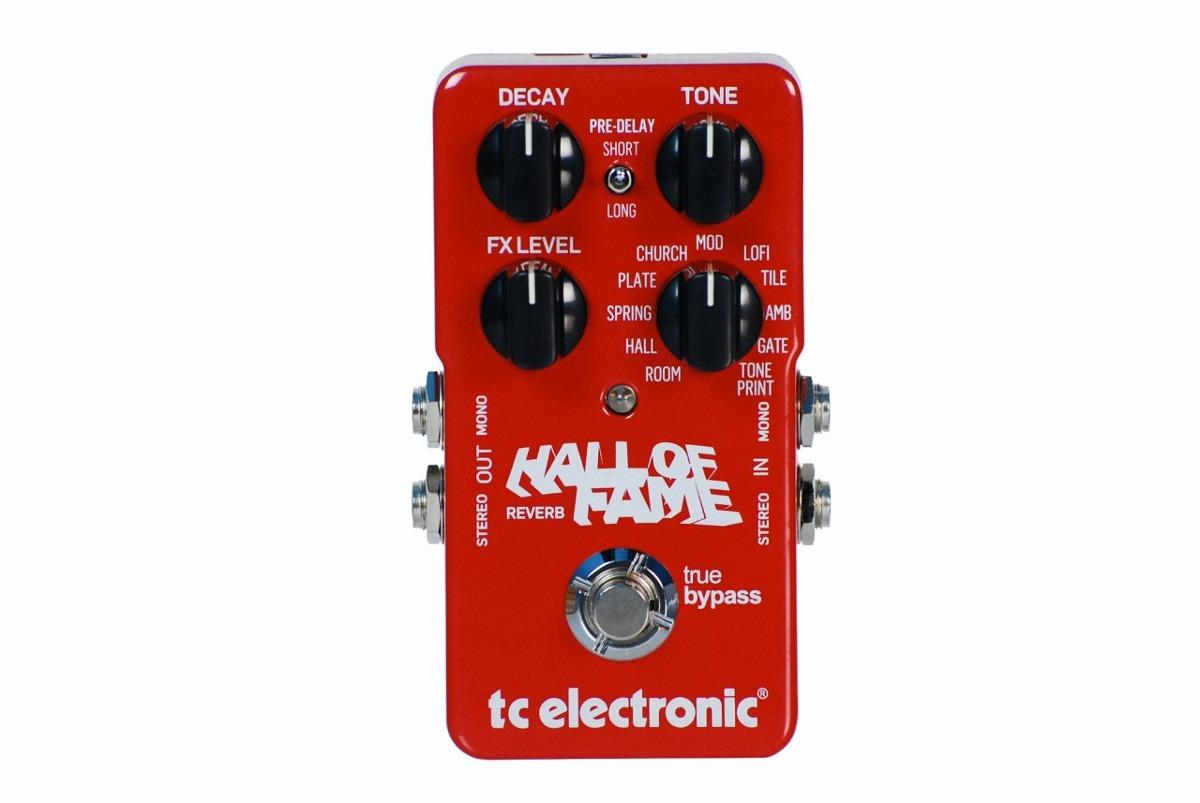Tc Electronic Hall Of Fame Reverb Pedal R 810 00 Em