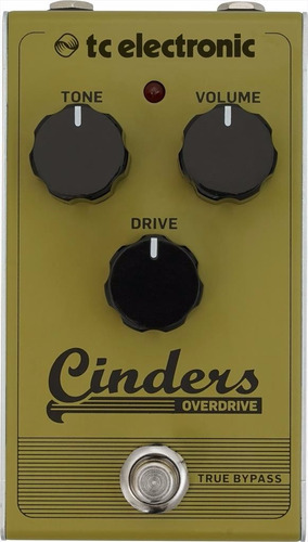 tc electronic - pedal - cinders overdrive