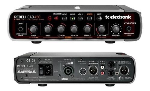 tc electronic rh450 amplificador de bajo