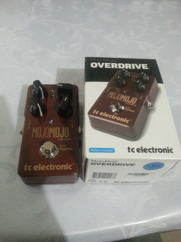 tc electronics mojo mojo overdrive (envio incluido)