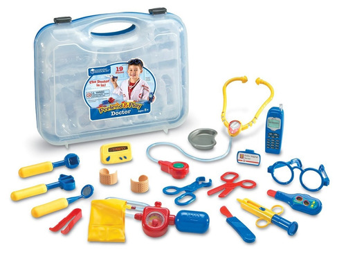 tc learning resources pretend & play doctor aprendizaje