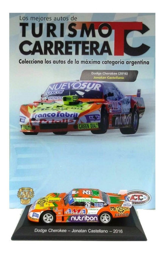 tc los mejores autos nº 51  dodge (2016) j. castellano