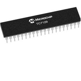 Tc7129  Adc De 4-1/2 Digitos Para Voltímetros 40 Dip