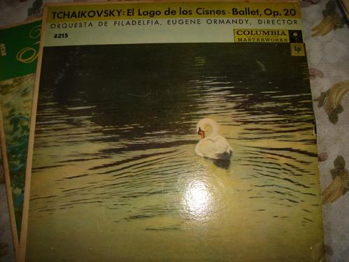 tchaikovski. lago de los cisnes.filadelfia. ormandy. excelen