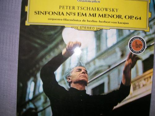 **tchaikowsky** **sinfonia n.5 em mi menor op. 64**
