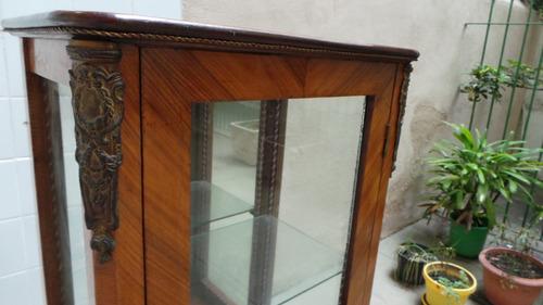 tck antigo oratório madeira rádica apliques em bronze lindo!