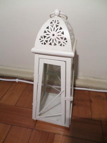 tck luminária de ferro de mesa para vela lindíssima peça!!