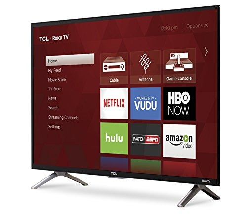 tcl 32s305 32 pulgadas 720p roku smart led tv (modelo 2017)