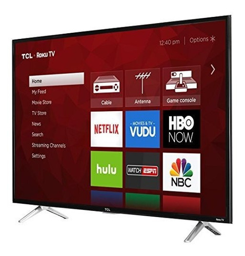 tcl 43s405 televisor led smart roku 4k ultra hd de 43''