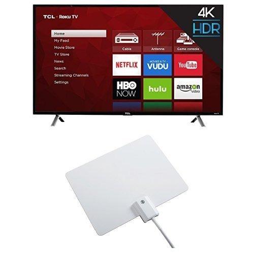 tcl 49s405 tv 4k ultra hd roku smart led tv de 49 pulgadas (