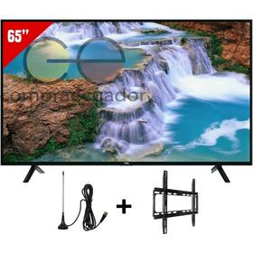 Tcl Televisor Led 65¨ Smart Tv 4k Uhd Gratis Antena Soporte