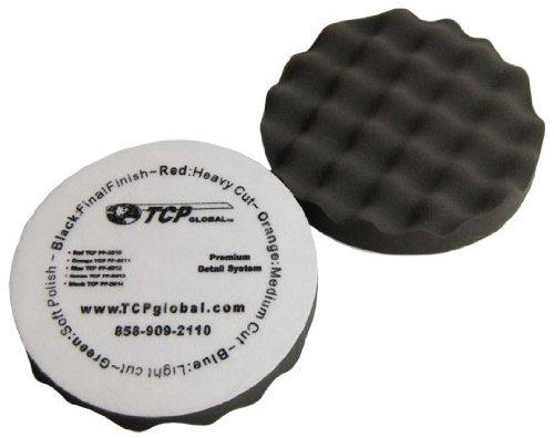 tcp global complete kit de pulido y pulido de 3 almohadillas