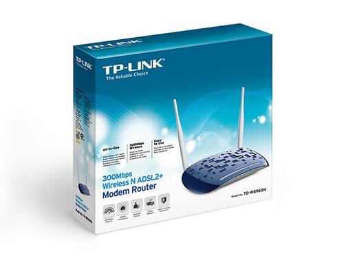 td-w8960n 4-port 300mbps wireless n adsl2+ modem  / mallbits