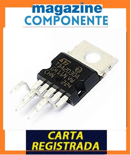 tda2030 - tda 2030l  - amplificador - original