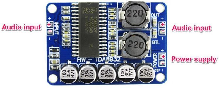 Tda8932 amplificador d audio digital estereo modulo mono 35w bs tda8932 amplificador d audio digital estereo modulo mono 35w altavistaventures Image collections