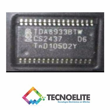 tda8933btw tda8933 ic de sonido para tvs, leds