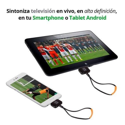 tdt sintonizador receptor tv para celular tablet t2 android