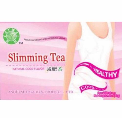 té adelgazador slimming tea 8 cajas envío sin costo