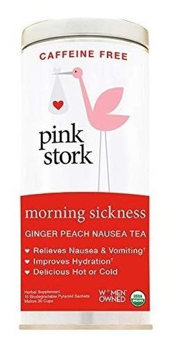 té aliviar las náuseas pink stork tea. té orgánico jengibre