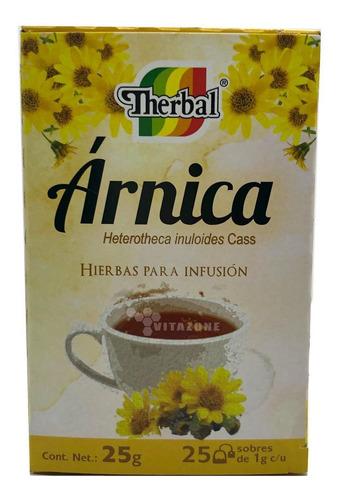 té de arnica 25 sobres therbal
