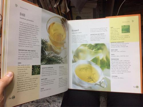 te de hierbas. aromáticas. recetas cocina