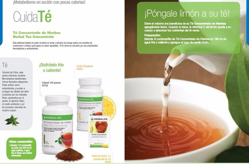 Te De Hierbas - Quemador De Grasa Herbalife 100% Original