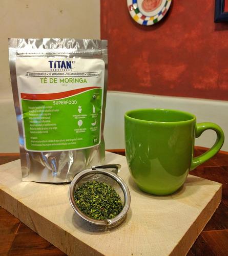 té de moringa orgánica 100 gramos (100 servidas)