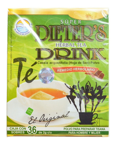 té dieters drink (36 sobres) la salud es primero