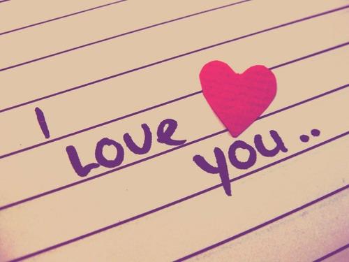 te digo que te quiero y que vales mucho :3