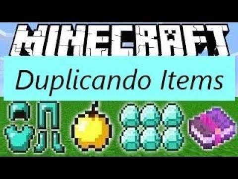 te duplico cualquier item en minecraft| minecraft duplicar