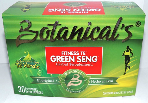 te green seng 30 filtrantes