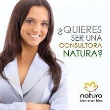 ¿te gustaría ser consultora de natura?