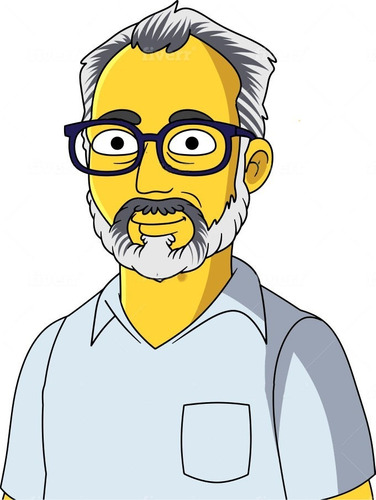 te hago tu propia caricatura de los simpsons!!