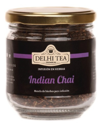 te hebras delhi tea premium frasco indian chai