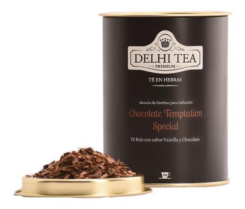 te hebras delhi tea premium lata chocolate temptation