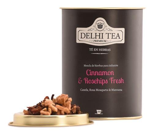 te hebras delhi tea premium lata cinnamon & rosehips