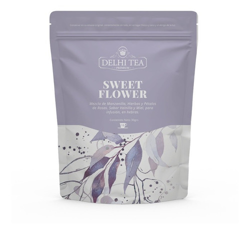 té hebras delhi tea premium sweet flower