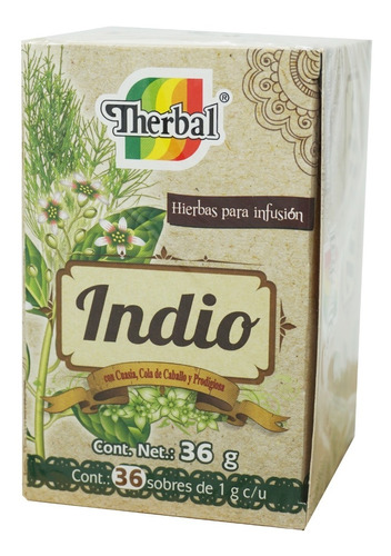 té indio (36 sobres) therbal
