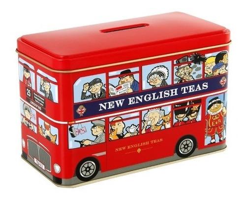te london bus - new english - 10 saquitos