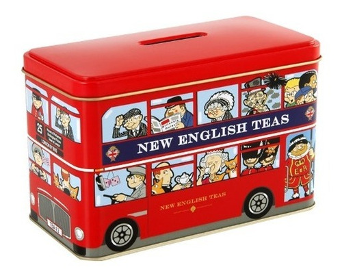 te london bus - new english - 25 saquitos