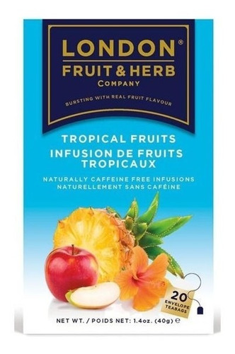 te london tropical fruits 20 sobres