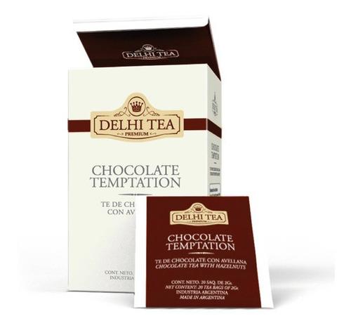 te premium delhi tea x 20 saq. chocolate temptation